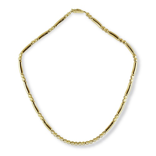 Brilliant Diamond and Gold Necklet