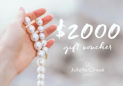 $2000 Willie Creek Pearls Voucher