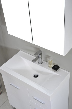 900mm vanity unit including the basin top