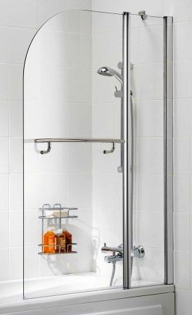 Ricardo bath pivot shower screen