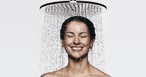 Solex 300mm diameter overhead shower