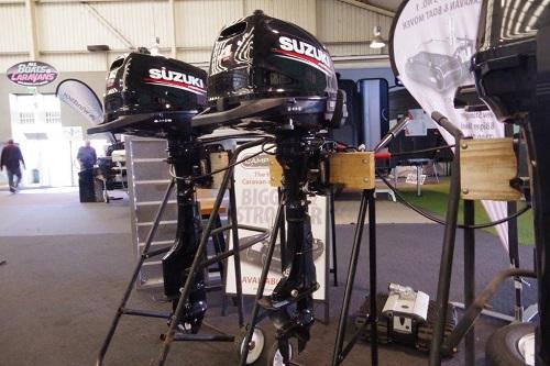Suzuki 4hp S/S 4 stroke Outboard