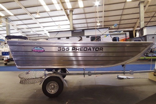 Tattoo Predator 355 car topper dinghy