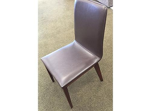 CH-12081 Leather dining chair