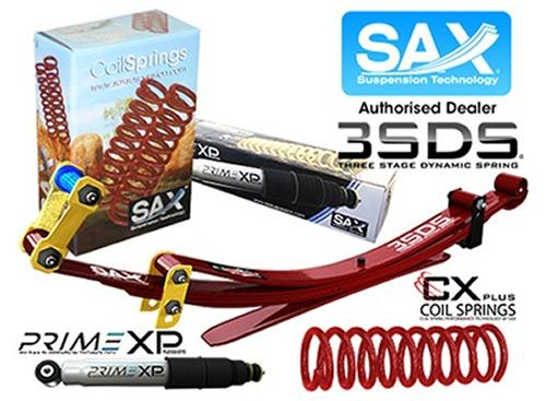 SAX NISSAN PATROL UTE COIL/LEAF HD SUSPENSION LIFT KIT