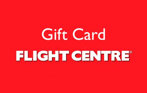 $2,000 Flight Centre Gift Card