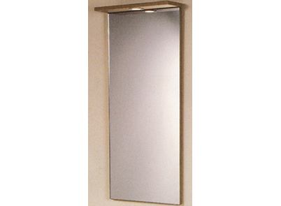 R900 Brig Mirror, two overhead lights