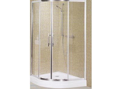 Ricardo 1000mm curved shower screen/base