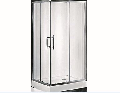 Ricardo 900mm square shower screen/base