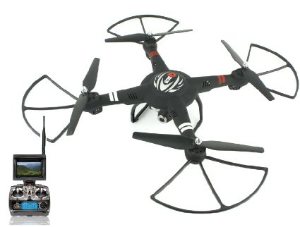 RCFPV Drone 720p 1 Axis Gimbal - Cam Rec