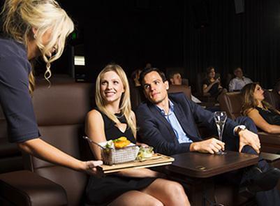 4 x Grand Cinema Gold Lounge - Warwick
