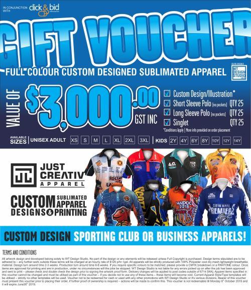 WT Design Voucher = Graphic designer