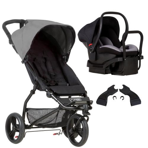 Mountain Buggy Mini Pram & Car Seat