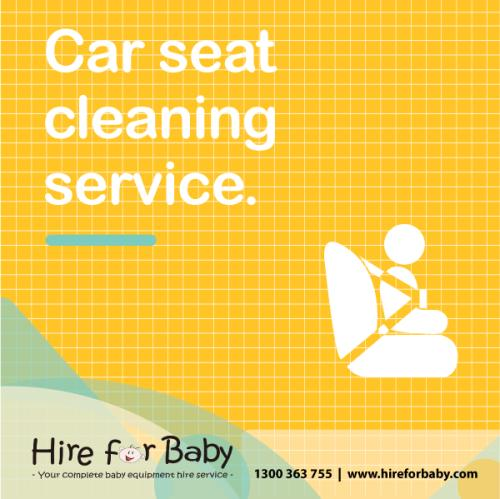 Professional Car Seat Clean & Fitting