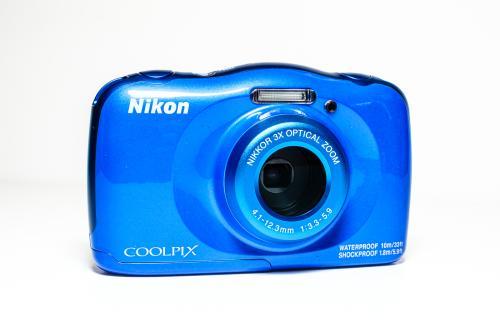 Nikon Coolpix W150 Blue Compact Camera