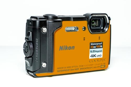 Nikon Coolpix W300 Orange Compact Camera