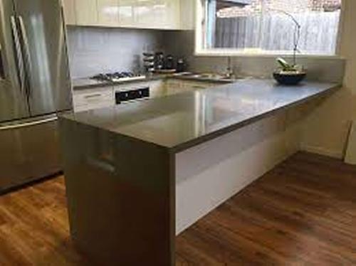 Stone Bench Top - Installed
