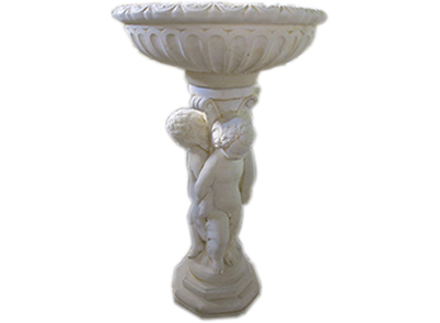 3 Cherub Bird Bath