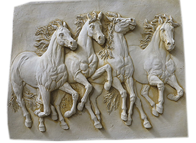 Brumby Horse Wall Plaque