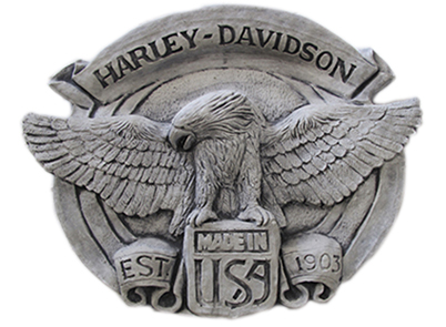 Harley Plaque