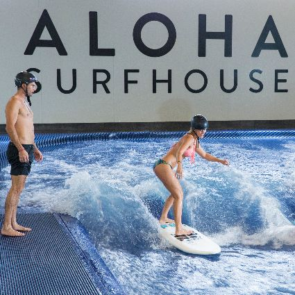 Indoor Surfing 30-Mins for 16 people