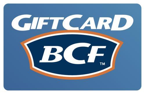 $100 BCF Gift Card
