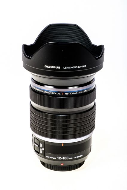 OLYMPUS  ZUIKO 12-100MM  F4 IS PRO LENS