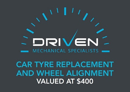 Car tyre replacement & wheel alignment