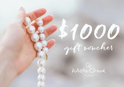 $1000 Willie Creek Pearls Voucher