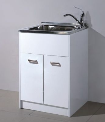 45 lt stainless steel trough & cabinet