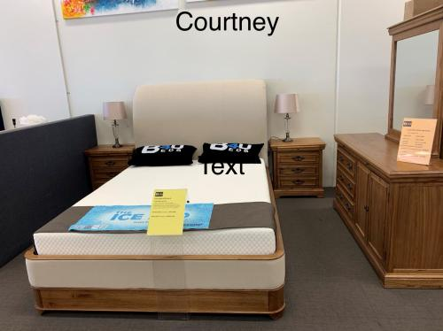 COURTNEY QUEEN BED ONLY