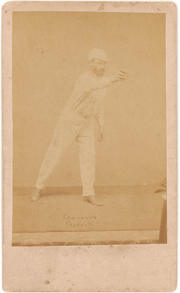 Charles Lawrence Bowling 1866 68 By Patrick Dawson Carte De Visite From Family Papers