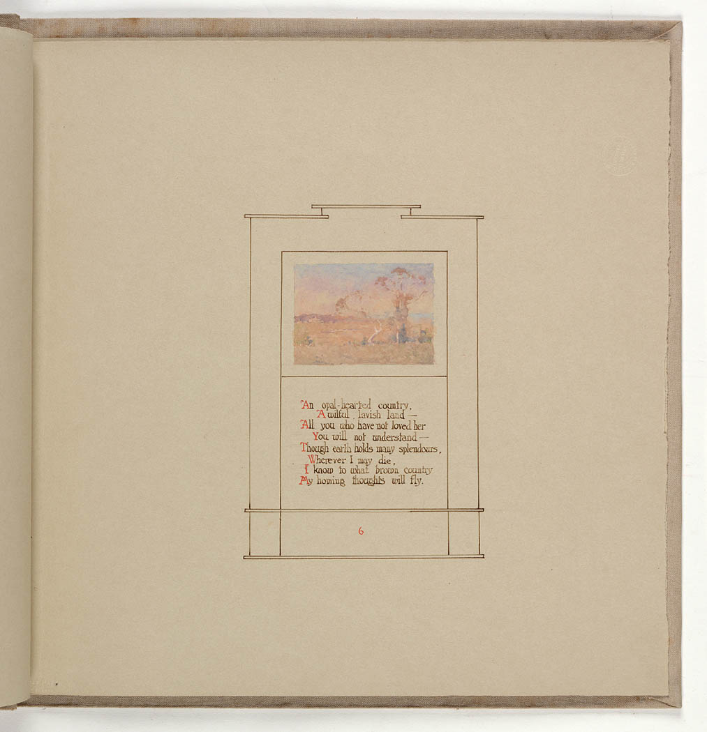 Dorothea Mackellar's My Country | State Library of NSW