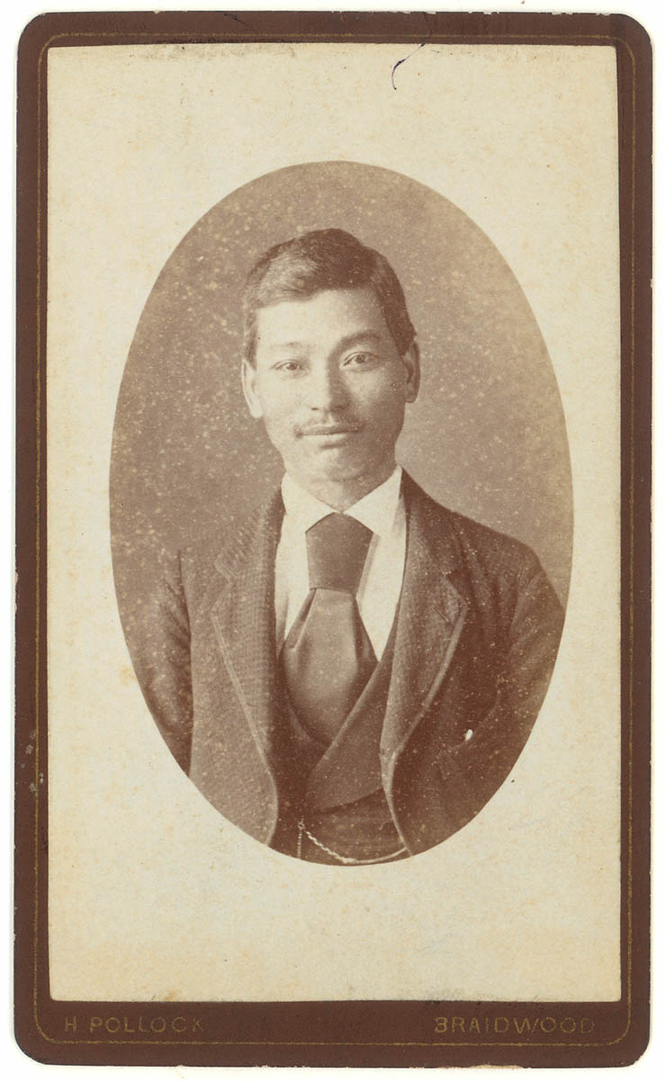 Quong Tart, Carte de visite album 1870-1885