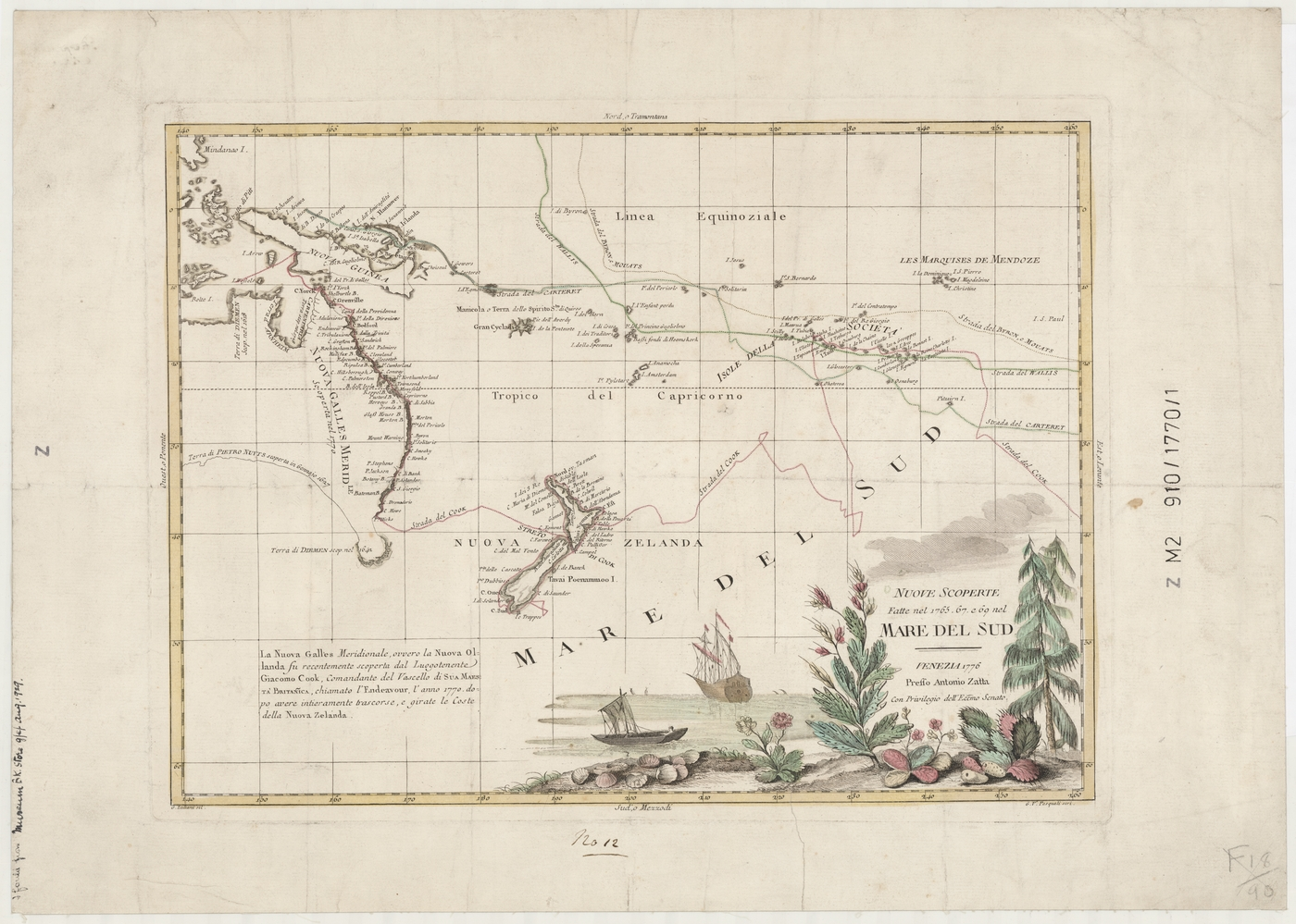Map Of Australia 1770.Captain Cook S Voyages Of Discovery Stories State Library Of Nsw