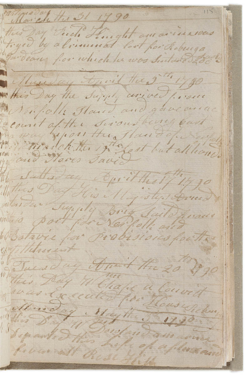 Journals from the First Fleet | From Terra Australis to Australia