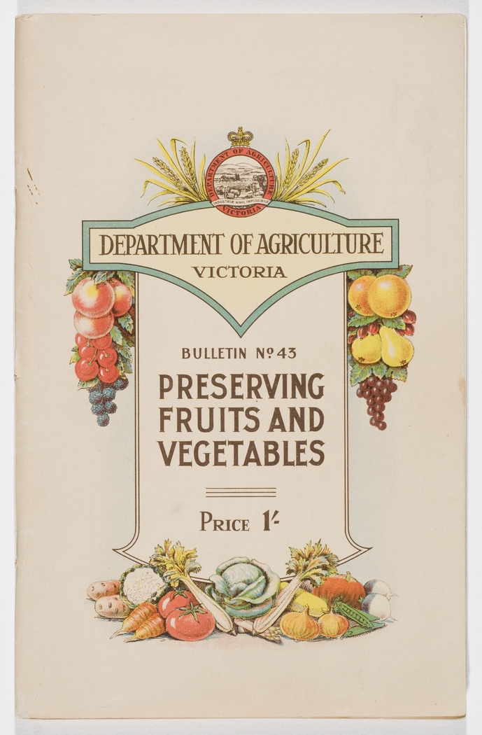 preserving fruits and vegetables    department of