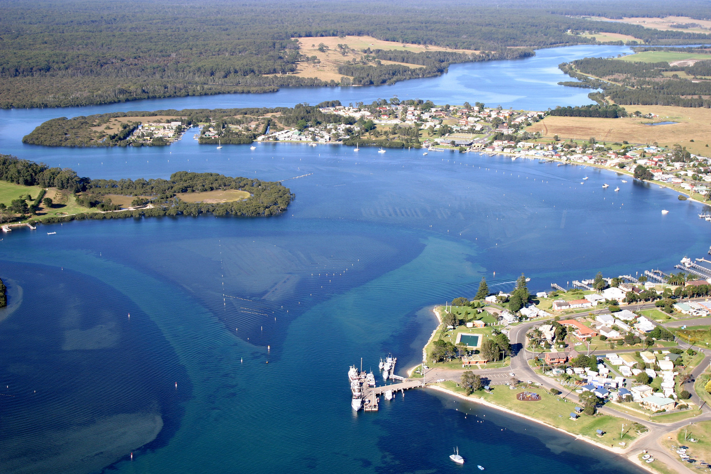 Why is there continued settlement in the Shoalhaven River