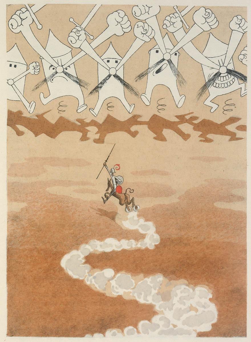 L'ingénieux hidalgo Don Quichotte de la Manche / par Miguel de Cervantès Saavedra