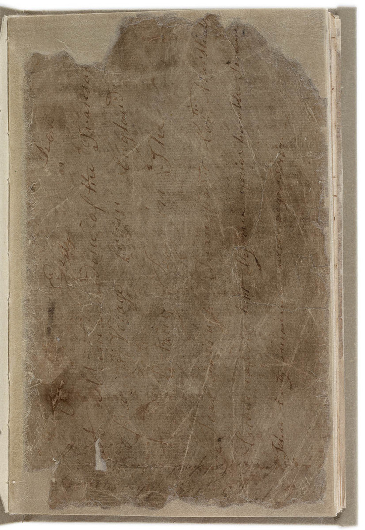 John Easty - Journal, 1786-1793. Front cover.
