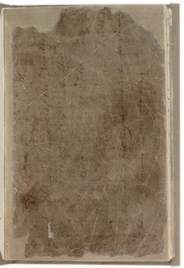 John Easty - Journal, 1786-1793. Front cover.