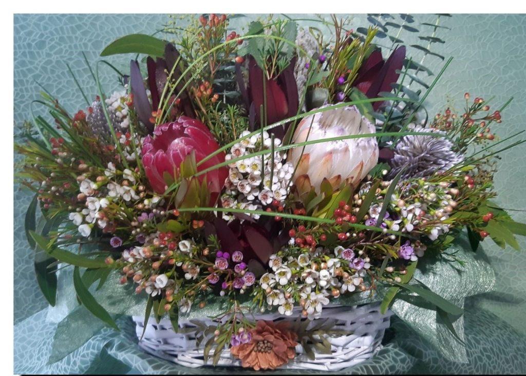 Australian Indigenous Grasstrees and Wildflowers