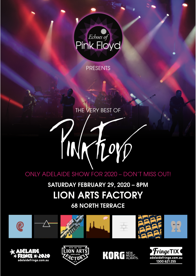 Pink Floyd Tour 2020.Buy The Very Best Of Pink Floyd Tickets Sa 2020 Moshtix