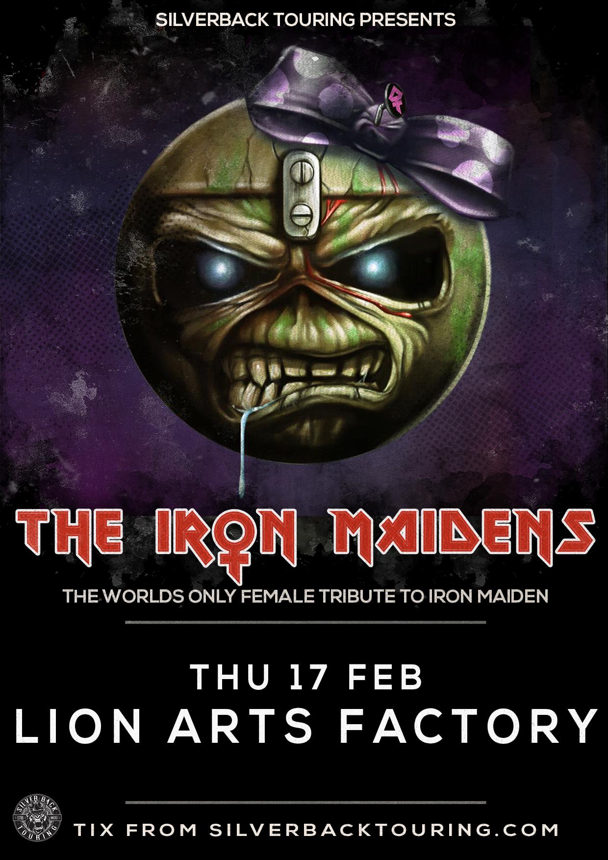 Buy The Iron Maidens Tickets Sa 2022 Moshtix