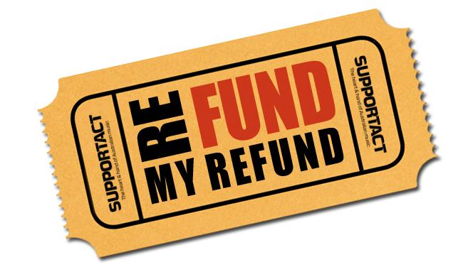 Refund My Refund Charity Donation
