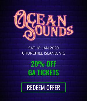 Ocean Sounds - 20% Off GA Tickets - Redeem Offer!