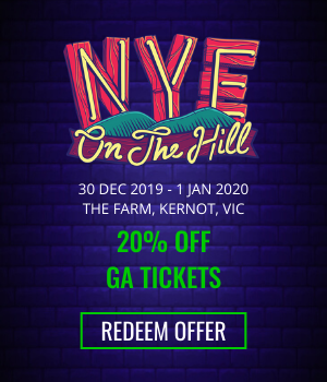 NYE on the Hill - 20% Off GA Tickets - Redeem Offer!