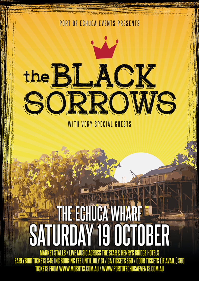 Buy The Black Sorrows tickets, VIC 2019 | Moshtix
