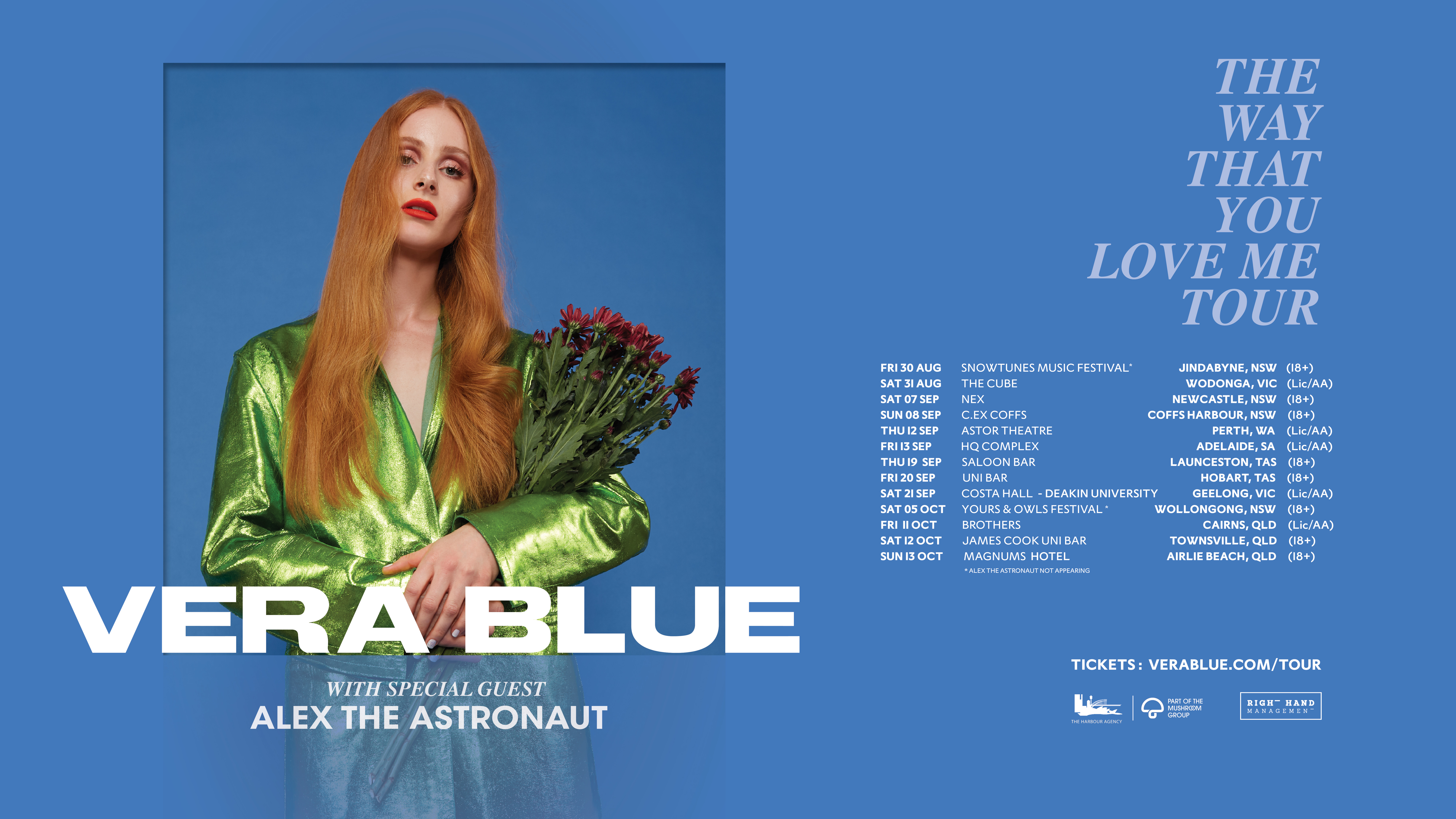 Buy Vera Blue – The Way That You Love Me Tour tickets, SA