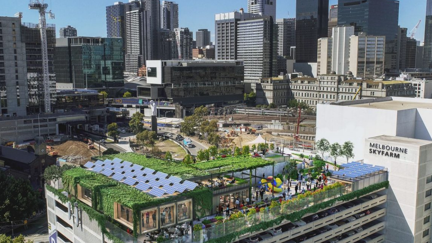 Melbourne carpark to offer a taste of nature with rooftop farm
